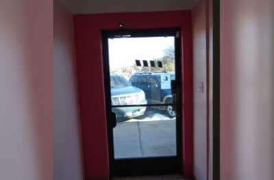 Commercial Door Tinting - After