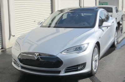 Tesla Clear Bra Car Tinting